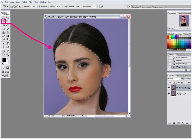 Photoshop как сделать одинаковый цвет кожи