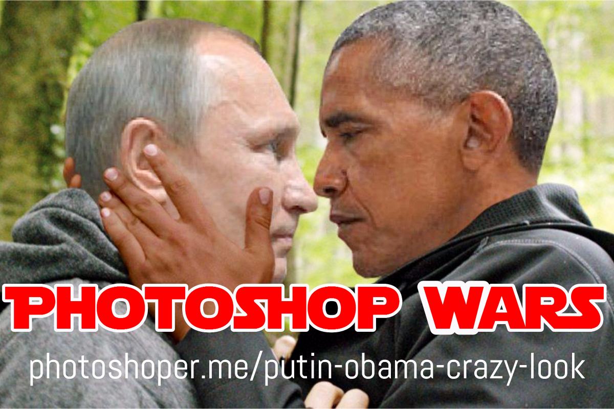 putin obama photoshop battle wars